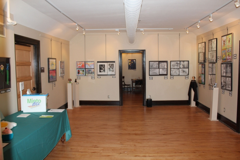 Minto Arts Gallery main space