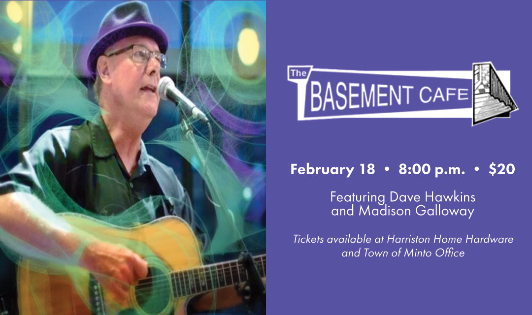 Basement Café Concert Series: Dave Hawkins with Madison Galloway