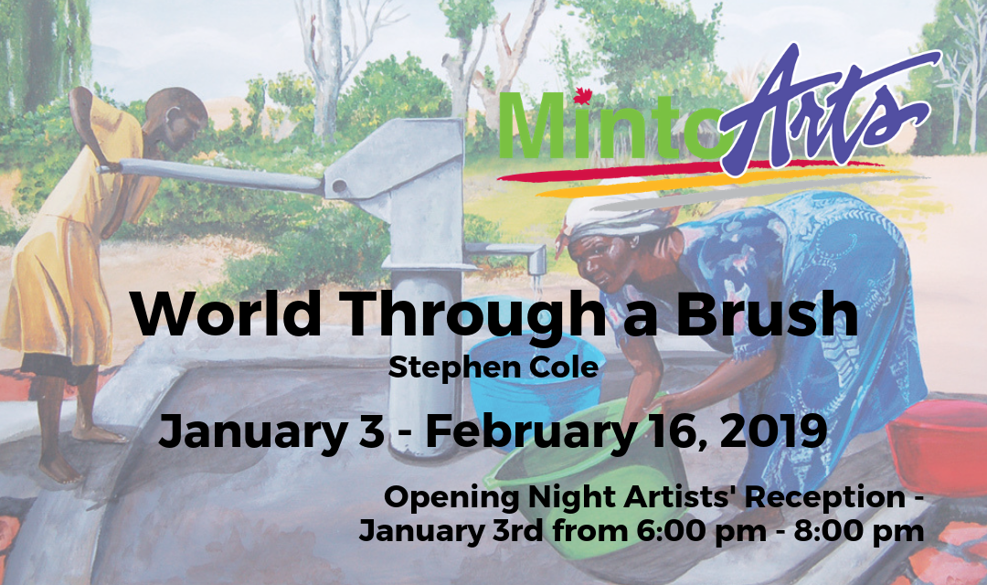 "Paintings by Stephen Cole ""World Through a Brush"""