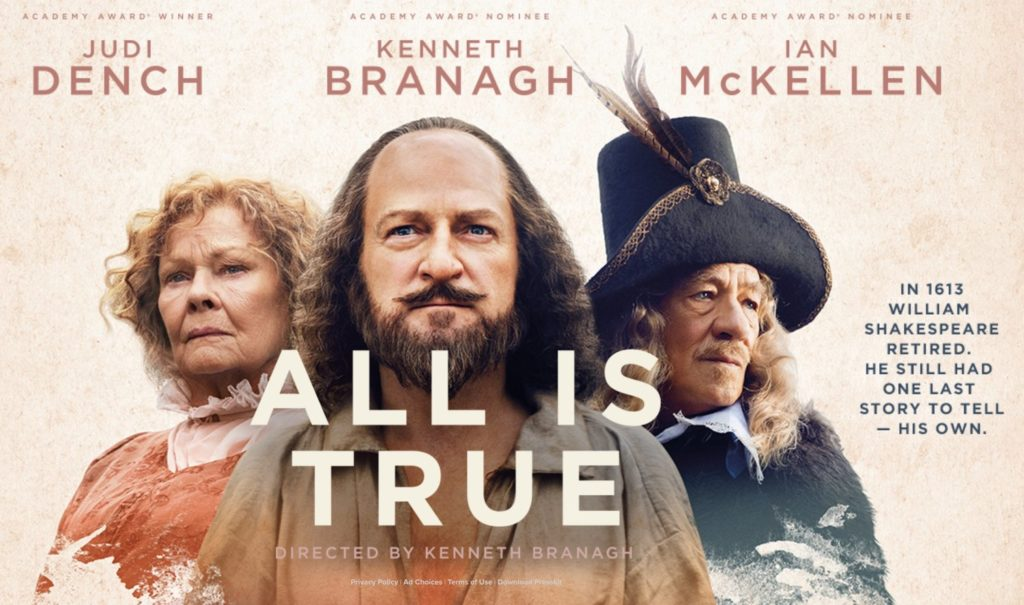 Film Fest Sept: All Is True